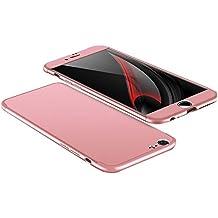 Funda iPhone 6/6S, Vanki® 360 Grados Caso Carcasa Cubierta de lujo 3in1 híbrido la cubierta Anti-Arañazos Anti-Choque de la PC para iPhone 6 Plus/6S Plus