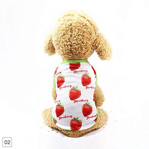 Cartoon-Motiv, für Paare, Gr. XS, Strawberry Vest, M ()