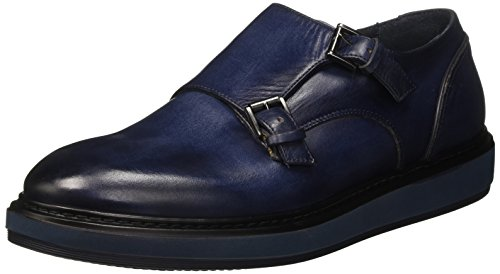 Harmont & Blaine Double Monk, Sneakers Basses Homme Blu (Blue)