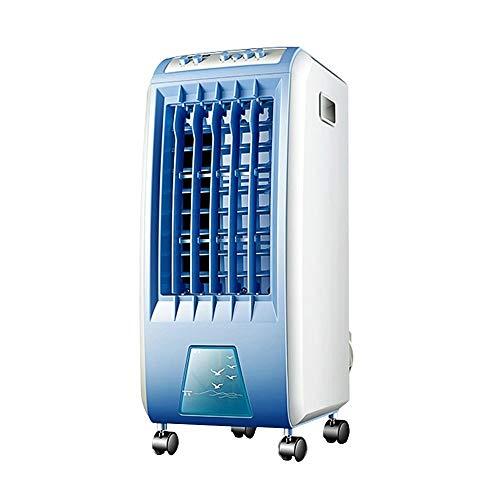 Verdunstungskühler, 3-in-1-Standklimaanlage, 6 l Wassertank, geräuscharm, kleine Klimaanlage for Wohn- / Schlafzimmer, Kühlbereich 320 m², ft, 56,5 cm -