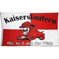Flagge Fanflagge Kaiserslautern Bulldogge - 90 x 150 cm