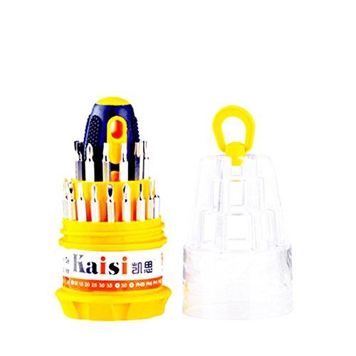 Schraubendreher 31 kombiniert Multifunktions-Schraubendreher-Set Schraubendreher manuell demontiert Werkzeuggürtel