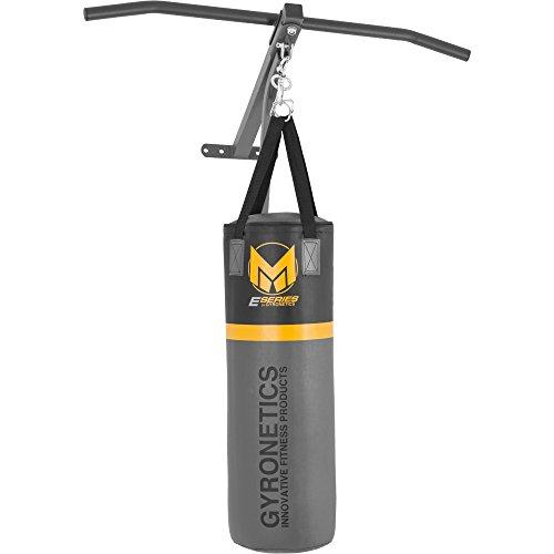 GYRONETICS ® Boxsack mit Klimmzugstange - 2in1-Boxstation-Kombi zur Wandbefestigung bis 120 kg belastbar