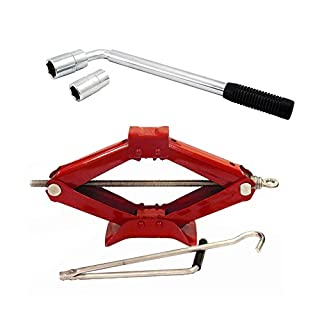 1.5 tonne Scissor Jack + Extending Wheel Brace Wrench Incudes includes Styled Sticker