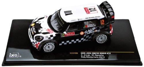 ixo-ram496-vehicule-miniature-modele-a-lechelle-mini-mini-john-cooper-works-wrc-monte-carlo-2012-ech