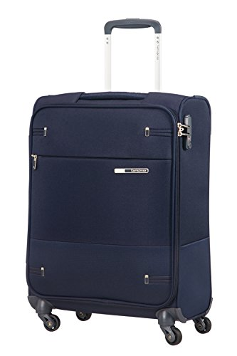 Samsonite Base Boost Spinner S Bagaglio a Mano, 55 cm, 39 litri, Blu (Navy Blue)