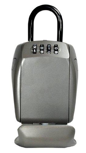 Großer Sicherheits-Schlüsselkasten für extra Sicherheit - Select Access - mit Bügel - Sicherheits-Schlüsselkasten um Ihre Schlüssel zu schützen und sicher zu teilen (Master Lock Schlüsselsafe)