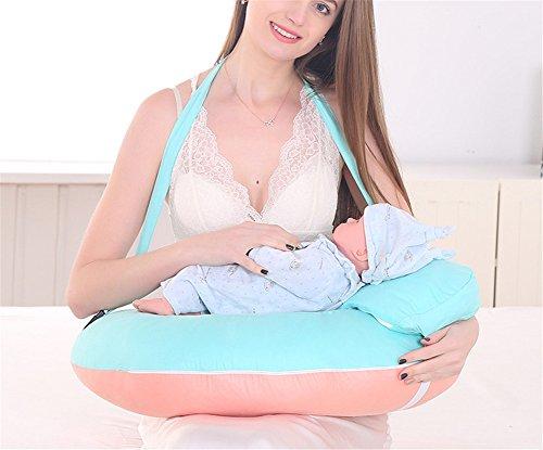 Générique Coussin d'allaitement Coton Housse de Bébé Allaitement Dormir