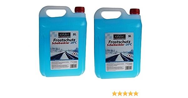 Scheibenfrostschutz Frostschutzmittel Frostschutz 5 Liter 20 C 10 L Auto