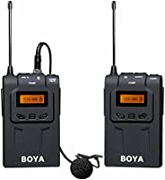 Boya 48-Channel UHF Wireless Microphone System for Digital Camera & Camcorder - BY