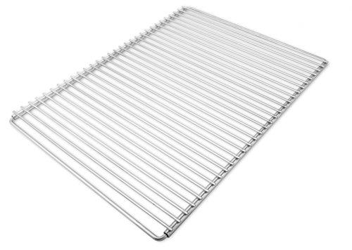 Edelstahl Grillrost mit verstellbarer Breite 60-70X45cm aus Europäischem Edelstahl, Verstellbarer Grillrost, Grillrost Ausziehbar