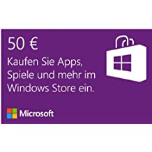 Microsoft Windows Store 50 EUR Guthaben [Download]