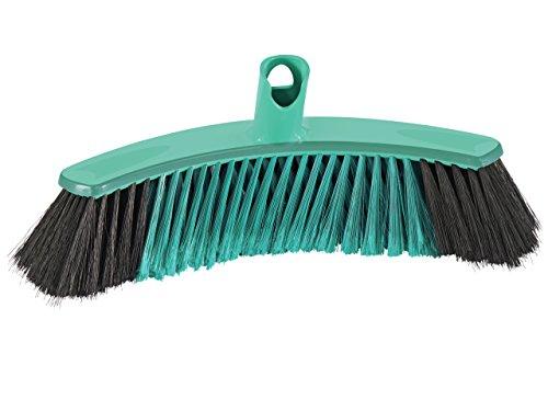 Leifheit 45030 - Escoba para todas las superficies Xtra Clean Collect, 30 cm