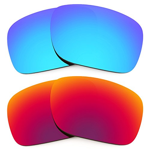 Revant Ersatzlinsen für Oakley Holbrook Polarisiert 2 Paar Kombipack K005 (Holbrook Oakley Ersatz)
