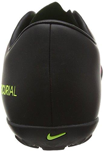 Nike Mercurialx Victory Vi Tf, Chaussures de Foot Homme Multicolore (Total Rouge Crimson/Vert Volt/Black/Pink Blast)