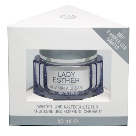 Lady Esther Cosmetic: Special Care Vitamin A Winter Cream inkl. 3 Vitamin A Ampullen (50 ml)