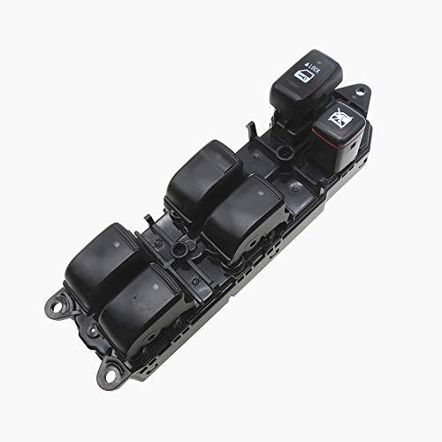 Power Master Fensterschalter 84040-60052 für Land Cruiser 120 Prado GRJ120 TRJ120 (Drivers Door Panel Interior Side)