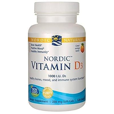 Nordic Naturals Vitamin D3, 250mg, 120 Softgels from NORDICNATU