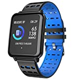 Ni ka Smart watch sports fitness tracker heart rate blood pressure monitoring watchSilicone