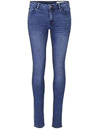 O.M.W - Jeans Femme - Slim - Taille Moyenne - Stone Blue