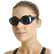 Speedo Futura Biofuse - Gafas de natación unisex, color negro / gris, talla única