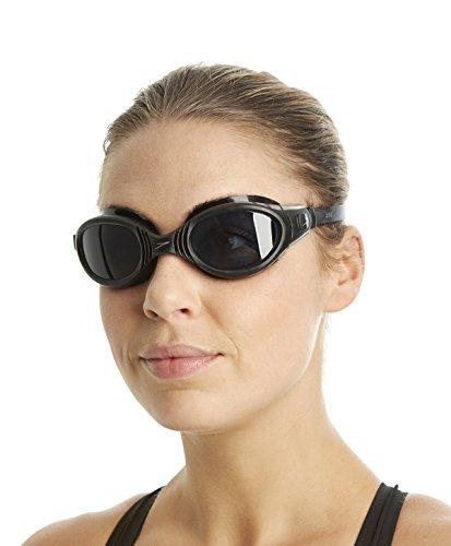 Speedo futura biofuse gog au occhialino adulto, nero/grigio fumo