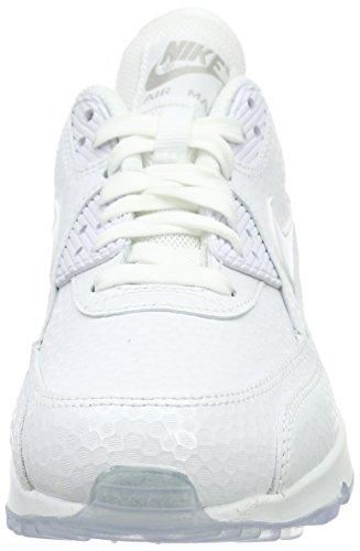 Nike - Wmns Air Max 90 Prem - , homme, blanc (white/white), taille blanc (White/White)