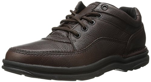 Rockport - World Tour Classic, Scarpe stringate basse oxford Uomo Marrone (Marrone (Chocolate))