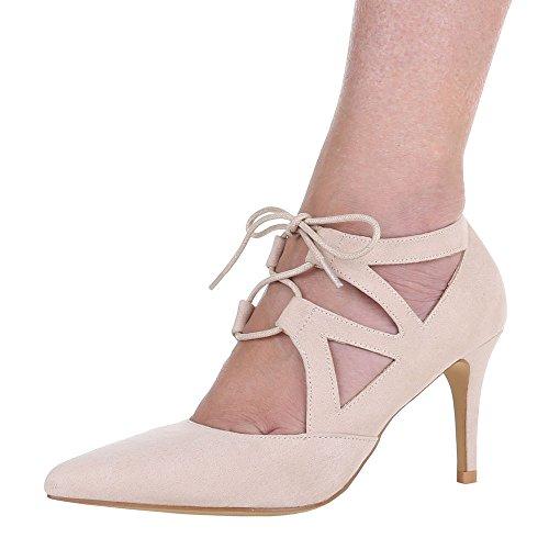 Negócio Femininos Schnürer Calçados Bombas 37 36 41 De De Salto 38 Noite Clube Agulha Sapatos Vermelho Alto 40 Salto Bege 39 z4CBwCq