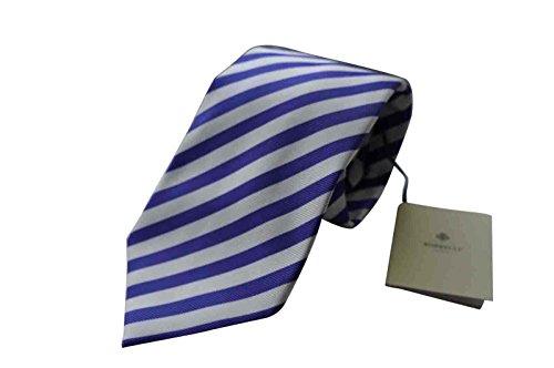 luigi-borrelli-napoli-italy-mens-tie-bnwt-100-silk-purple-white-stripe-7-fold