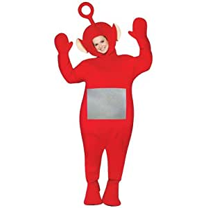 Rasta Imposta 155 179 Teletubbies - Po Adulte Costume - Rouge - Taille