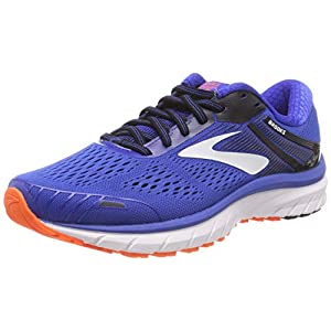 Brooks Adrenaline GTS 18, Zapatillas de Running para Hombre, Azul (Blue/Black/Orange 420), 41 EU