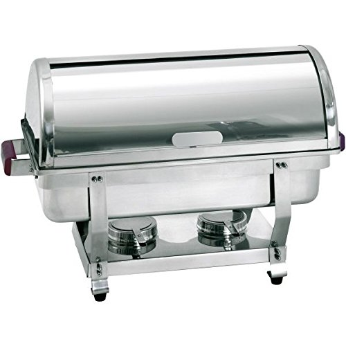 Bartscher Rolltop Chafing Dish 1/1GN  - 500458 Chafing Dish Fuel
