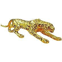 Crafts Leopardo Modello Galvanotecnica Resina Ornamento Auto Decorazione Creativo Casa Ufficio Hotel Regalo Di Apertura Glod Xxl