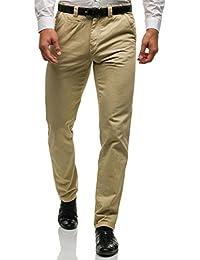 BOLF Herren Hose Chino Business Klassisch Casual Gerader Clubwear 6F6 Elegant MIX