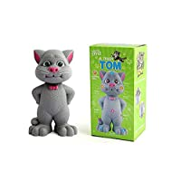 Deeti Toys Intelligent Talking Tom Cat with Touch Recording Story Rhymes & Songs (Assorted Colors)