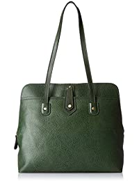 Hidesign Women's Shoulder Bag (Green)