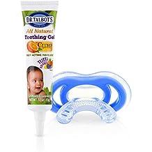 Nuby Gum-eez-Zahnungsschnuller mit Zahnungsgel, ab 4 Monaten