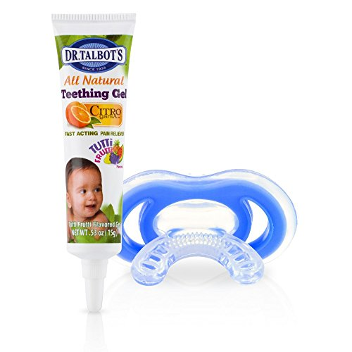 Nuby Gum-eez with teething  gel (4m+) 41Q81vcsTyL