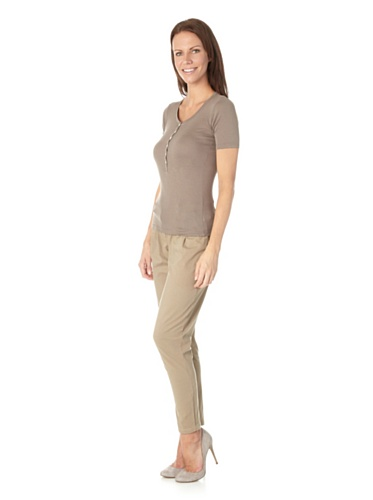 Schiesser Revival Damen Shirt halbarm Lena 123609 Nougat