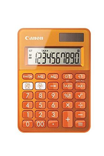 Calculadora sobremesa Canon LS-100K Naranja