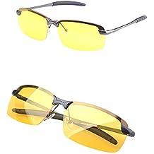 RUNGAO Gafas de sol para hombre de alta gama, visión nocturna, polarizadas, para