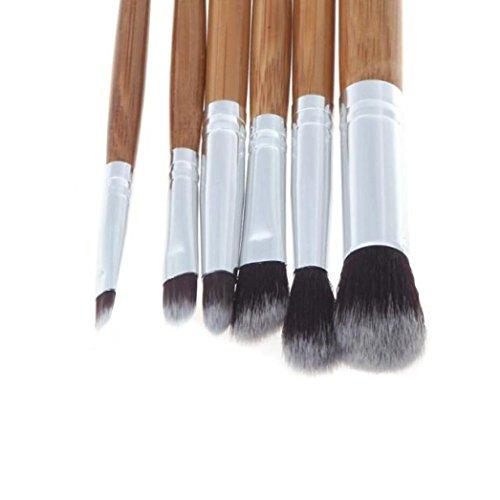 Susenstone 6PCs Outil Cosmétique Eye Brush Set