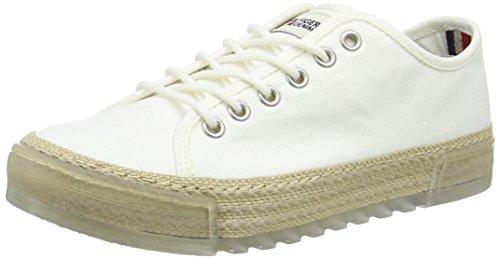 Tommy Hilfiger Damen B1385ELLA 1D2 Espadrilles, Weiß (Whisper White 016), 38 EU