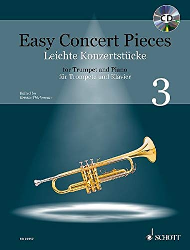 Easy Concert Pieces: 22 Pieces from 5 Centuries. Band 3. Trompete und Klavier. Ausgabe mit CD.