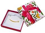 Amazon.de Geschenkkarte in Geschenkbox- 100 EUR (Blumen)