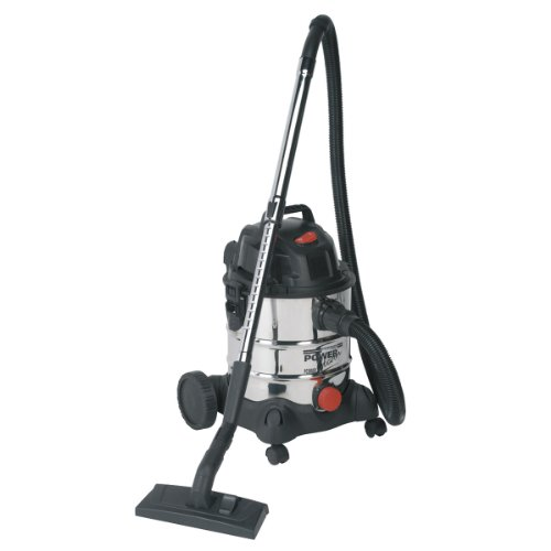 41Q88BkLkjL. SS500  - Sealey PC200SD Industrial Wet & Dry Stainless Vacuum Cleaner, 20L, 1250W/230V