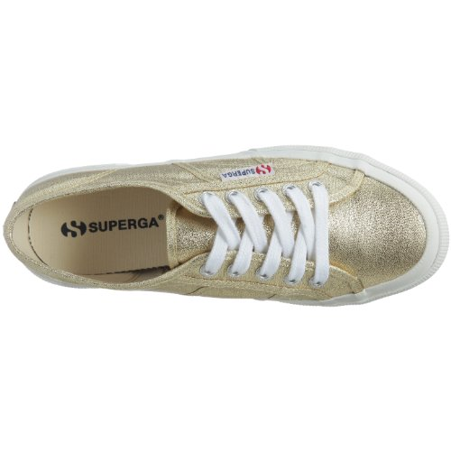 Superga 2750-Lamew, Sneakers Basses femme Or (174 Gold)
