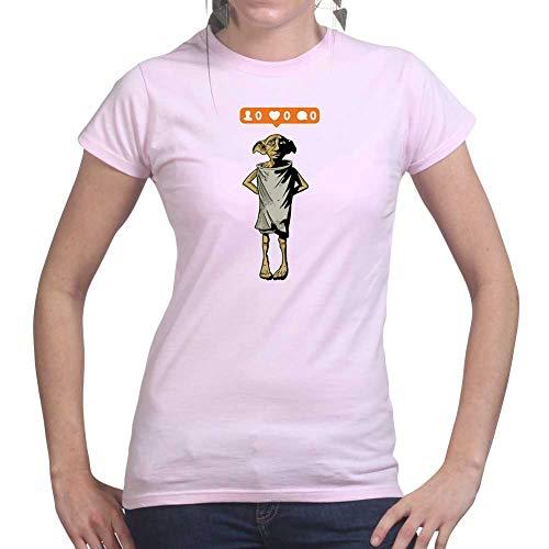 ElfInstagramWizardFunnyWomensLadiesT Shirt(Tee,Top) PNK Medium Pink