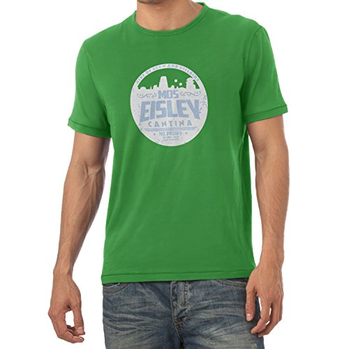 TEXLAB - No Droids - Herren T-Shirt Grün